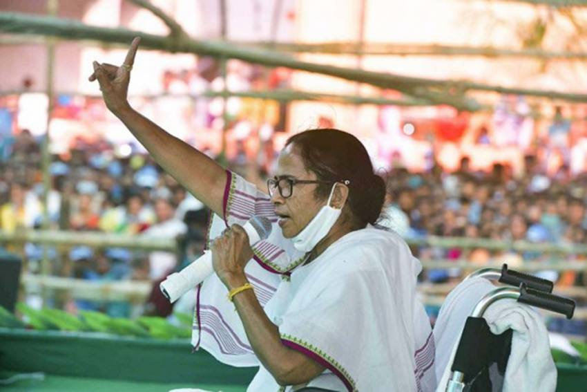 Bengal Poll Violence: Unable to Accept Defeat, BJP Is Conspiring To Kill People, Says Mamata Banerjee