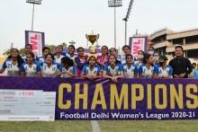 Hans Women FC Crowned Delhi Football League Champions