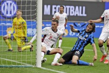 Inter 1-0 Cagliari: Matteo Darmian Strikes Late As Nerazzurri Continue Serie A Winning Streak