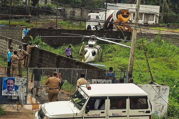 Chopper Carrying NRI Businessman Yusuff Ali Crash Lands In Kerala