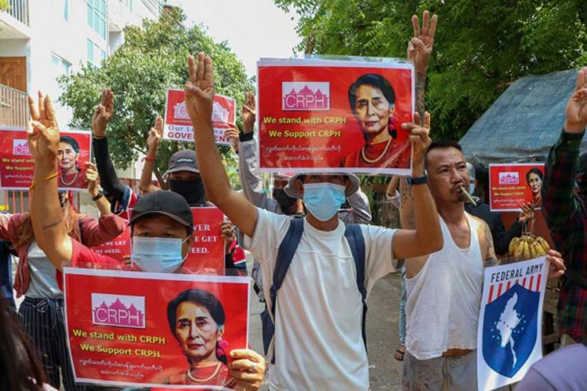 Violence Escalates In Myanmar As Security Forces Kill 82 Anti-Coup Protesters: Reports