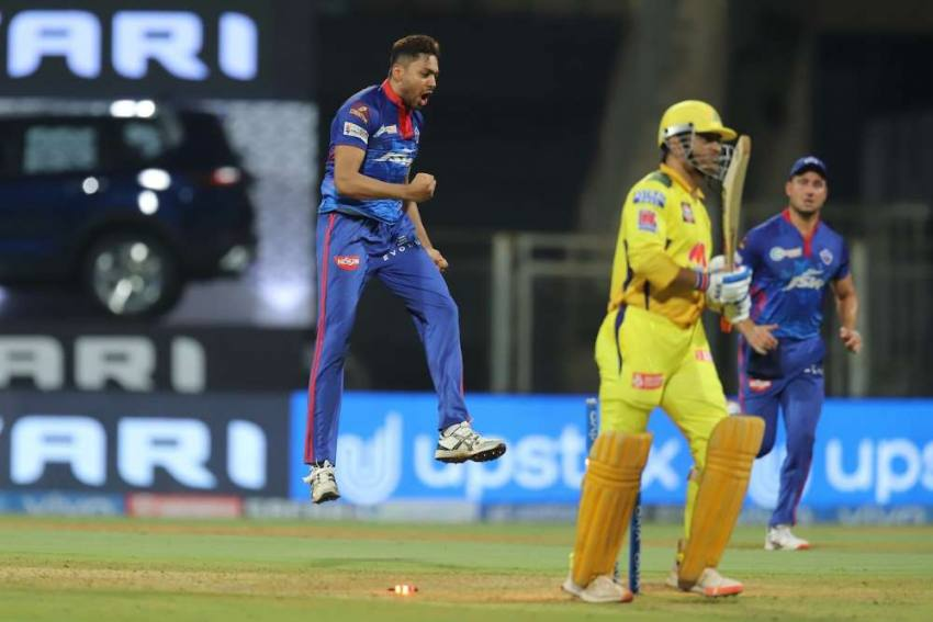 IPL 2021: Delhi Capitals Pacer Avesh Khan Over The Moon After 'Mahibhai' MS Dhoni's Wicket