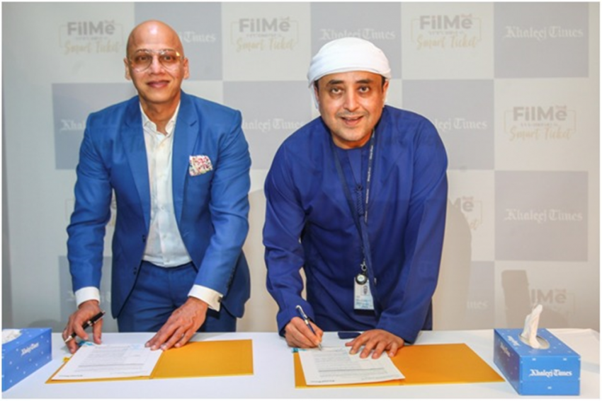 Media Giant Khaleej Times Partners With FilMe To Bring Innovative Movie-Watching Experience In UAE