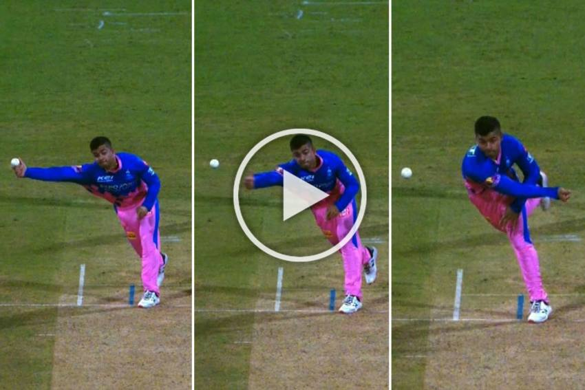 Riyan Parag's Bizarre Bowling Leaves Fans Bemused, IPL Comes Up With New Name - WATCH