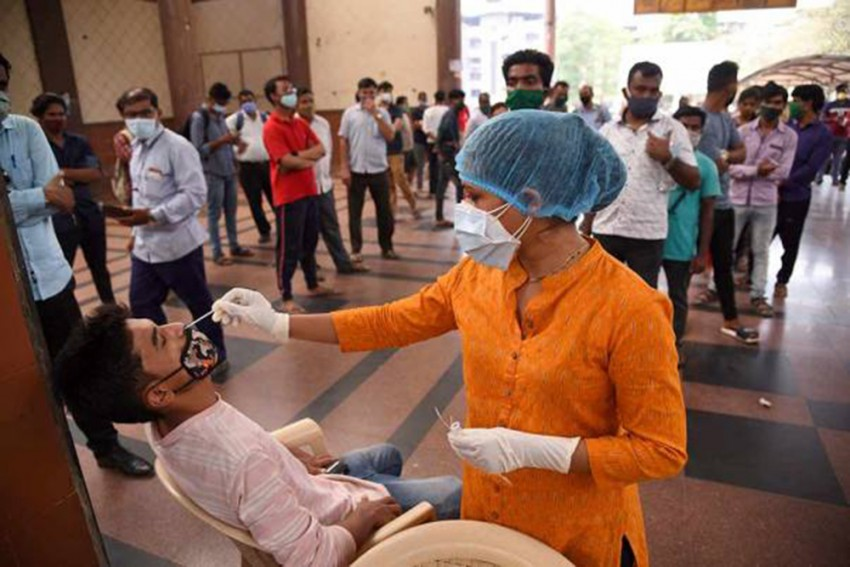 Covid-19: India Logs A Record 1.84 Lakh New Daily Infections