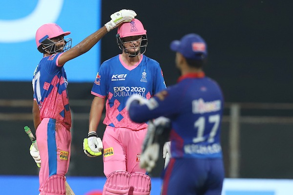 Chris Morris hit 36 runs of 18 balls as Rajasthan Royals defeated Delhi Capitals by three wickets in their Indian Premier League (IPL) match in Mumbai on Thursday. BCCI