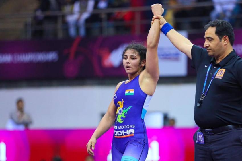 Asian Wrestling Championship: Sarita Mor Retains Title; Seema, Pooja Settle For Bronze