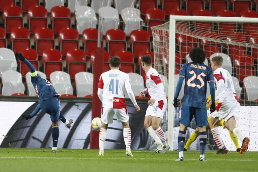 Europa League: Arsenal Set Up Unai Emery Reunion After First-half Blitz Against Slavia Prague