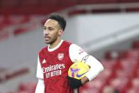 Pierre-Emerick Aubameyang Out Of Hospital And 'Feeling Good' After Malaria Diagnosis - Mikel Arteta