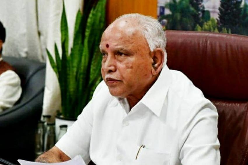 Karnataka CM B S Yediyurappa Tests Covid Positive For Second Time In Eight Months