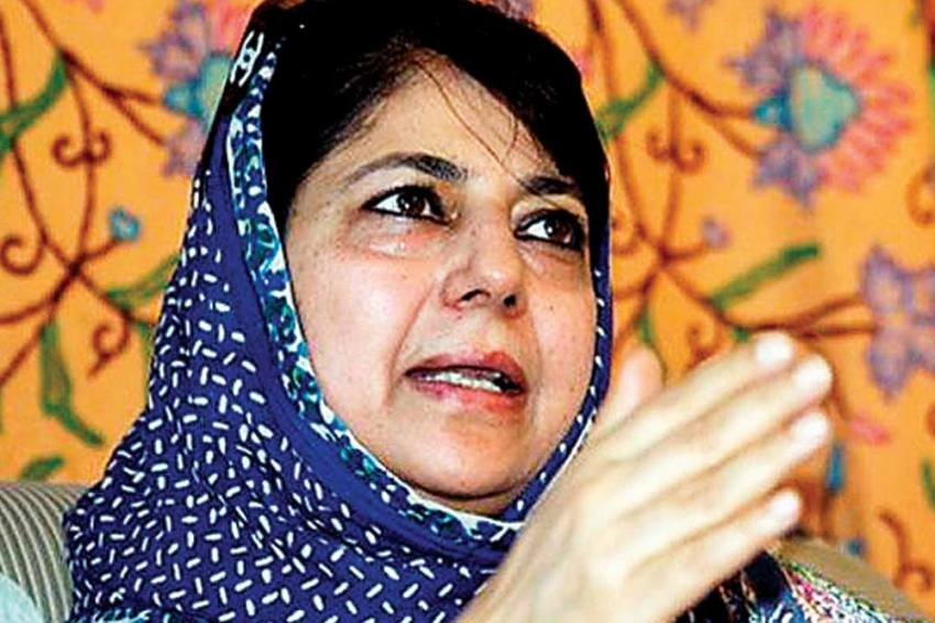 In 'Naya Kashmir', Even Women Not Spared From Cruelty: Mehbooba Mufti On SPO's Arrest