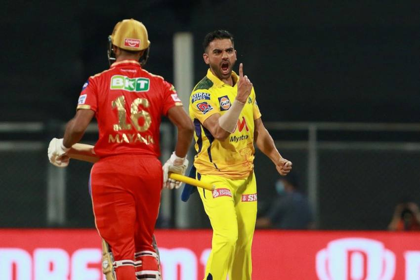 IPL 2021: Deepak Chahar Marks Half-century In Style As Chennai Super Kings Crush Punjab Kings