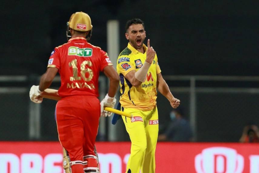 IPL 2021: Deepak Chahar Marks Half-century In Style As Chennai Super Kings  Crush Punjab Kings