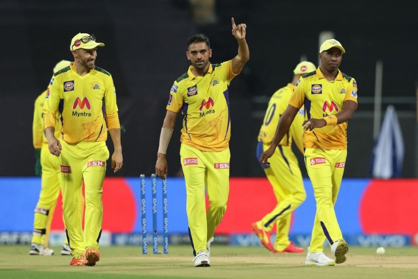 IPL 2021: Chennai Super Kings Blow Away Punjab Kings After Deepak Chahar's 4/13 - Highlights