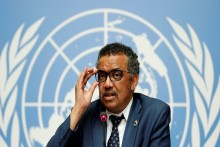 WHO Chief Calls Growth In Virus Cases 'Worrying'