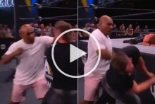 Mike Tyson Lands A Knock Out Punch In AEW Wrestling Appearance - WATCH