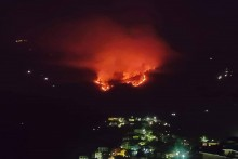Smoke Engulfs Shimla As Raging Fire Spreads To Surrounding Forest