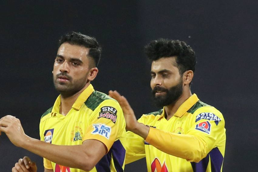 MS Dhoni Hails Deepak Chahar After Chennai Super Kings' First Win In IPL 2021