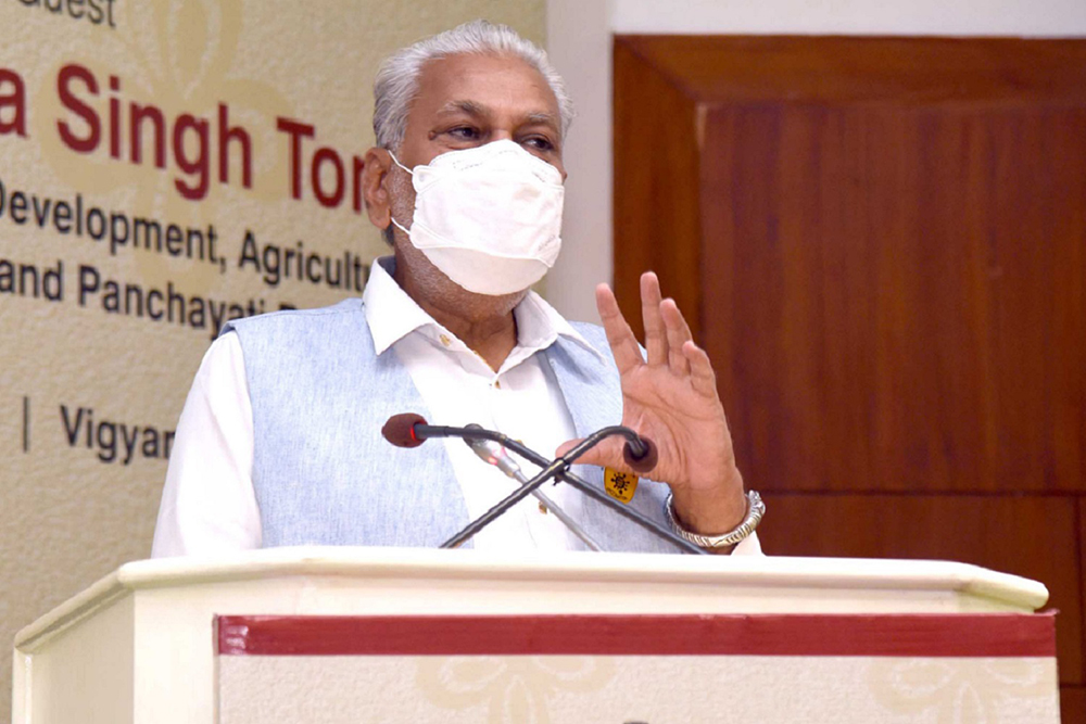 Govt For Pvt Sector Participation In Doubling Farmers' Income