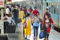 Ditching Masks On Railway Premises Will Attract A Fine Of Up To Rs 500