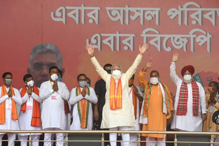 Didi, Nephew Will Be Vanquished After 8th Phase Of Bengal Polls: Modi Takes Dig At Mamata