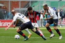Milan 2-1 Genoa: Own Goal Keeps Rossoneri In Serie A Title Hunt