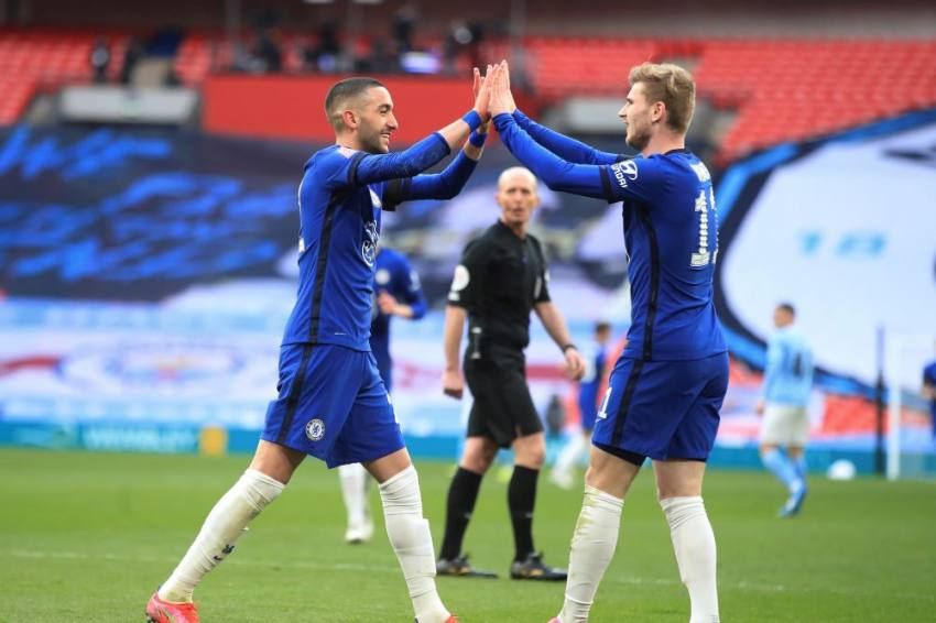 Chelsea 1-0 Manchester City: Hakim Ziyech Secures FA Cup Final Spot, Kevin De Bruyne Injured