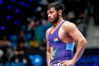 Deepak Punia Settles For Silver In Asian Wrestling Championship