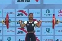 Jhilli Dalabehera Lifts Gold At Asian Weightlifting Championship