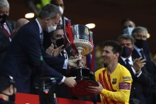 Lionel Messi Hails 'Special' Copa Del Rey Triumph As Joan Laporta Backs Forward To Sign New Barcelona Deal