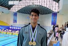 Swimmer Srihari Nataraj Creates National Record, Wins Second Gold In Uzbekistan