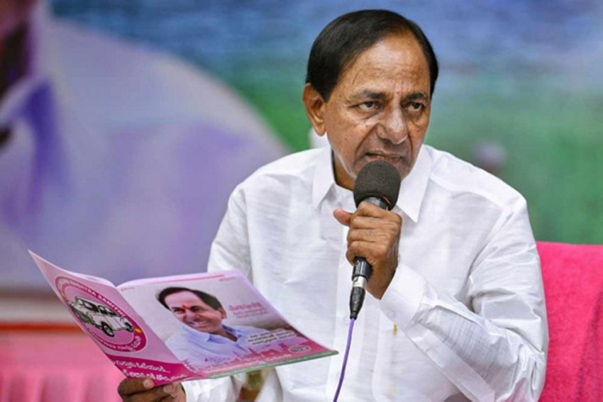 Telangana CM K Chandrashekar Rao Tests Positive For Covid-19
