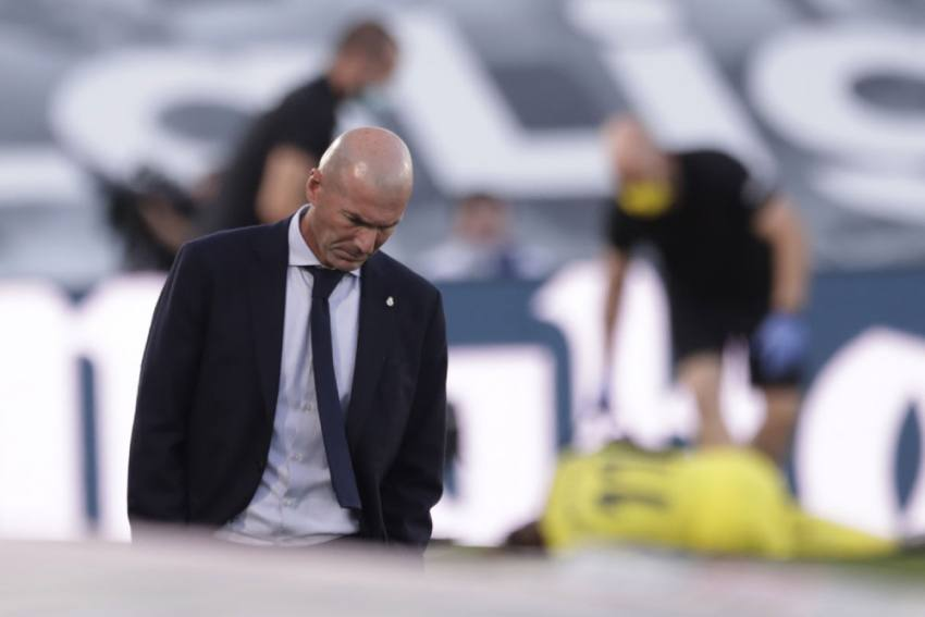 Zinedine Zidane Tells Real Madrid To 'Continue Fighting' As La Liga Title Hopes Take Hit