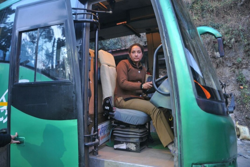 Two Messages From Himachal's Lone Woman Bus Driver