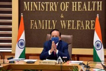 Percentage Of Covid-19 Patients Requiring Medical Oxygen Is Declining: Harsh Vardhan