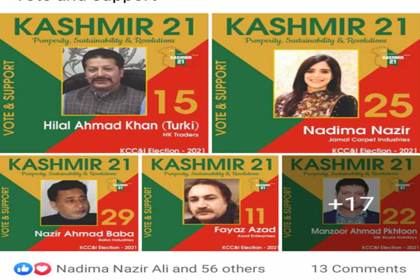 Kashmir Chamber Goes To Polls With An Eye On Giving Sagging Economy A Boost