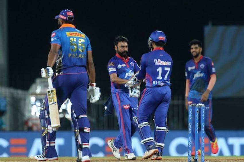 IPL 2021: Amit Mishra Triggers Batting Collapse As Shikhar Dhawan Helps Delhi Capitals Beat Mumbai Indians