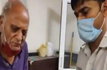 Watch: Selfless Delhi Constable Rescues 80-Year-Old Covid Patient Abandoned By Family