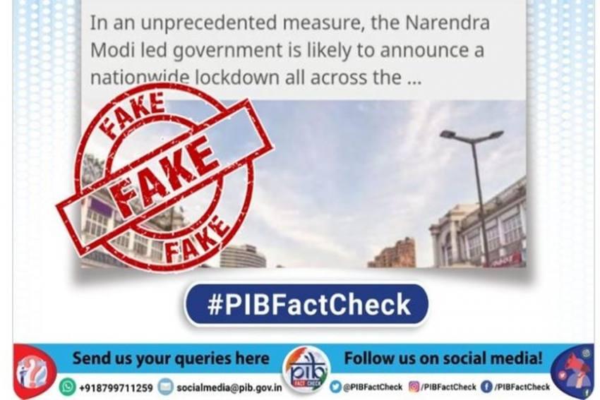 Fact Check: Modi Govt Is Not Imposing Lockdown Again; Check Details