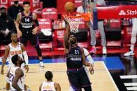 NBA: Joel Embiid's Near Miracle As Phoenix Suns Edge 76ers, While Knicks Extend Their Winning Streak