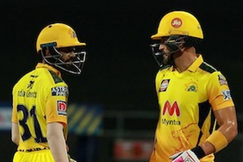 IPL 2021: Chennai Super Kings Opener Ruturaj Gaikwad Praises Faf Du Plessis' Knock