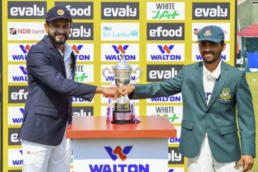 Sri Lanka Vs Bangladesh, 1st Test, Day 2: Bad Light Forces Early Stumps, BAN 474/4 - Highlights