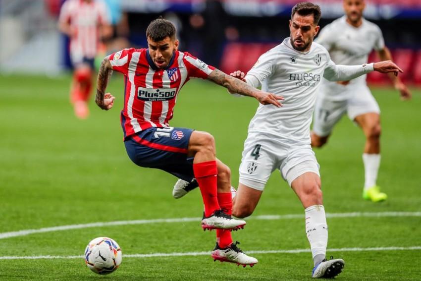 Atletico Madrid 2-0 Huesca: Simeone Sees Hosts Return To Top Of La Liga As Correa And Carrasco Strike