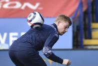 Manchester City Vs Tottenham: Kevin De Bruyne, Sergio Aguero Return To Training Ahead Of EFL Cup Final