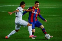 Barcelona 5-2 Getafe: Lionel Messi Scores Twice And Sets Up Another To Put Blaugrana Third In La Liga