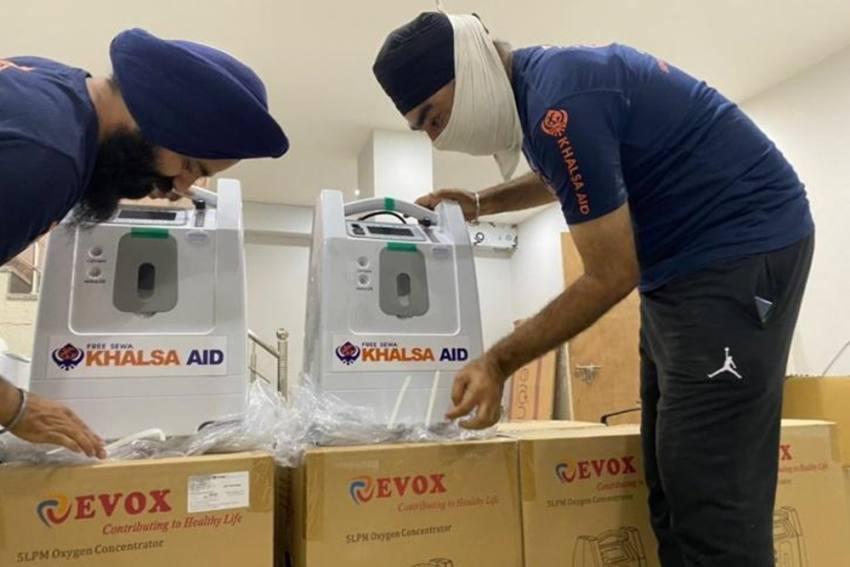 Delhi: Khalsa Aid To Provide Free Oxygen Concentrators To Covid-19 Patients
