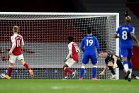 Arsenal 0-1 Everton: Leno Own Goal Boosts Champions League Hopes For Toffees As Gunners Fans Protest