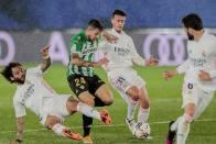 Real Madrid 0-0 Real Betis: Zinedine Zidane's Men Suffer Setback In La Liga Title Race