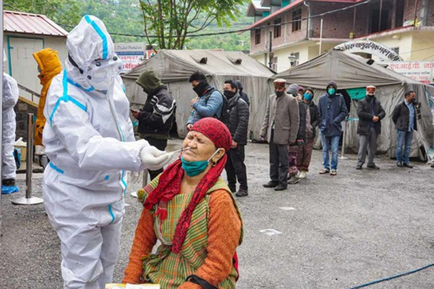 India Logs A Record Rise Of 3.49 Lakh New Covid-19 Infections, Death Toll Surges To 1.92 Lakh