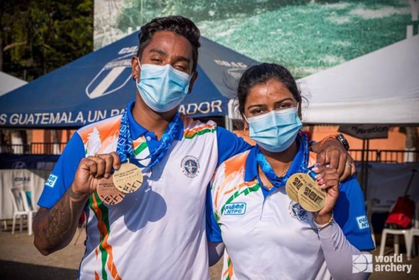 Archery World Cup: Couple Atanu Das, Deepika Kumari Shoot Triple Gold As India Finish With Four Medals